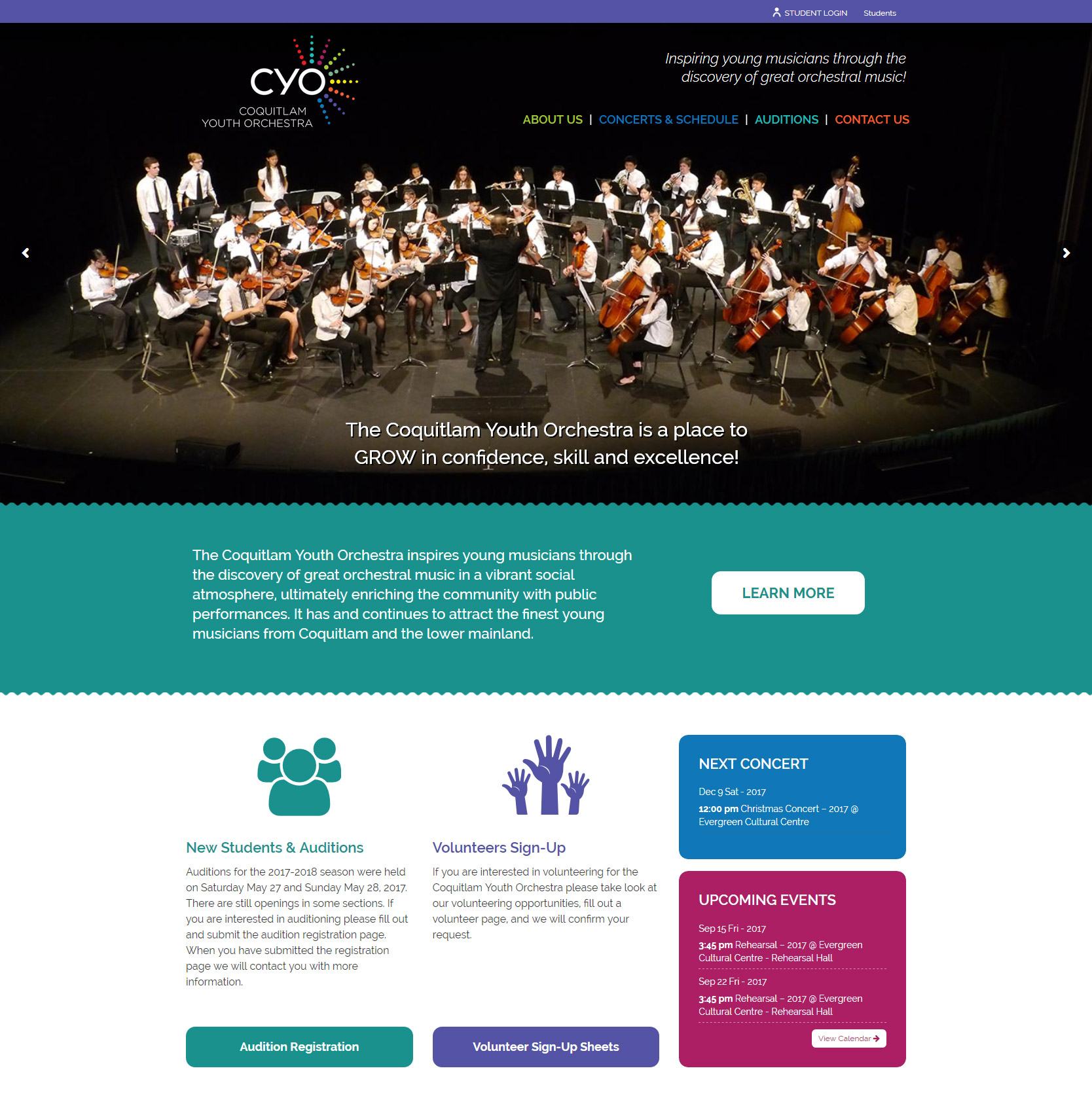 Coquitlam Youth Orchestra